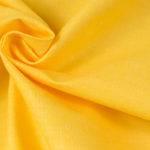 Tkanina 100% bawełna 125g/m2 szerokość 160cm żółta