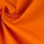 Tkanina 100% bawełna 125g/m2 szerokość 160cm pomarańczowa